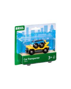BRIO Eisenbahn Autotransporter mit Ramp