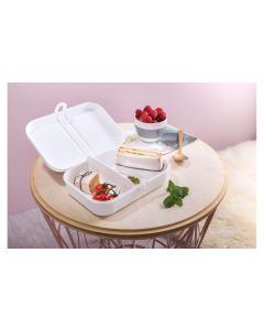 Koziol Lunchbox Pascal L Hellgrau
