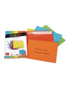 ELCO Couvert Color C6 Assortiert, 25 Stück