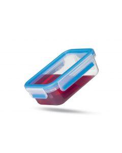 Emsa Vorratsbehälter 3 Stück, 3.85 l, Blau/Transparent
