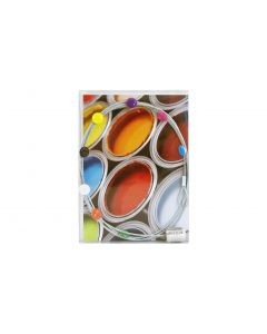 Trendform Fotoleine mit Magneten DOTS Silber, 1 Stück