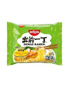 Nissin Fertiggericht Demae Ramen Nudelsuppe - Huhn 100 g