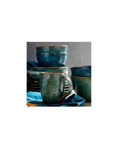 Leonardo Dessert-Schale Matera 6 Stück, Blau