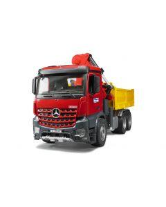Bruder Spielwaren Lastwagen MB Arocs Baustellen-LKW