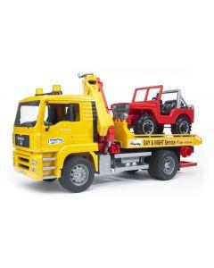 Bruder Spielwaren Lastwagen MAN TGA Abschlepp-LKW