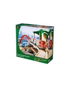 BRIO Eisenbahn Reisezug Set