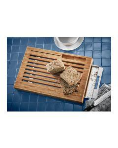 WMF Brotschneidebrett mit Auffangschale