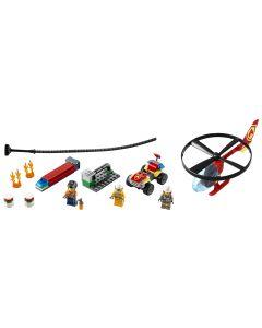 LEGO® City Einsatz mit dem Feuerwehrhubschrauber 60248