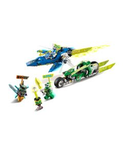 LEGO® Ninjago Jay und Lloyds Power-Flitzer 71709