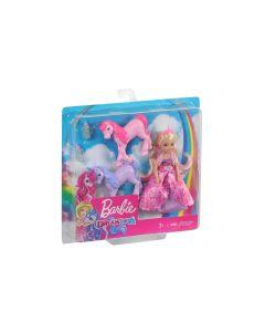 Barbie Spielset Dreamtopia Chelsea und Einhörner