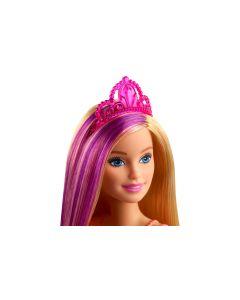 Barbie Puppe Dreamtopia Prinzessin Blond-Lila-Haar