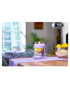 Yankee Candle Duftkerze Lemon Lavender medium Jar