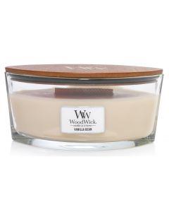 Woodwick Duftkerze Vanille Bean Ellipse