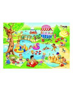 Ravensburger Puzzle Freizeit am See