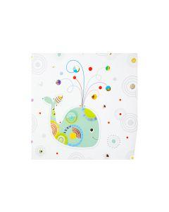 Goldbuch Babytagebuch Whale Serenity