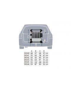 Trixie Transportbox   Aluminium M - L