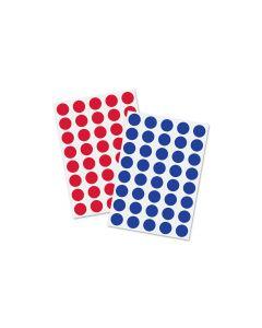 Sigel Klebepunkte 19 mm 1040 Stück, Rot/Blau