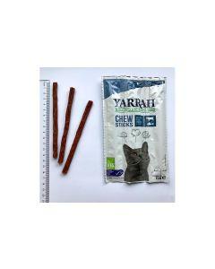 Yarrah Chew Sticks Bio-Kaustangen für Katzen