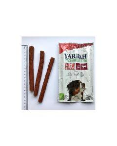 Yarrah Kauartikel Chew Sticks Bio-Kaustangen für Hunde