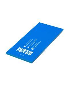 Kolma Notizzettel NOTES 99 x 210 mm Blau, 100 Blatt