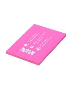Kolma Notizzettel NOTES A7 Pink, 100 Blatt