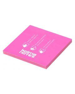 Kolma Notizzettel NOTES 76 x 76 mm Pink, 100 Blatt
