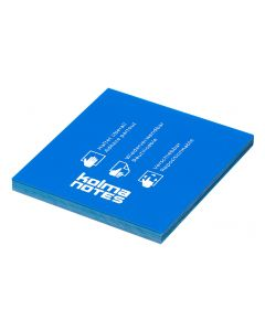 Kolma Notizzettel NOTES 76 x 76 mm Blau, 100 Blatt