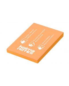 Kolma Notizzettel NOTES A8 Orange, 100 Blatt