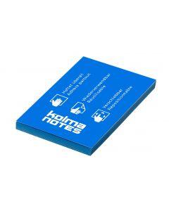 Kolma Notizzettel NOTES A8 Blau, 100 Blatt