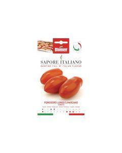Blumen Saatgut Tomate Lungo San Marzano