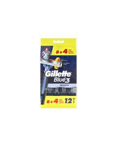 Gillette Blue 3 Smooth Herrenrasierer 12 Stück