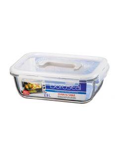 Lock & Lock Vorratsbehälter Boroseal 2.9 l, Transparent