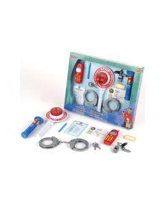 Klein-Toys Polizei Set, 10-teilig