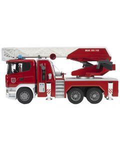 Bruder Spielwaren Rettungsfahrzeug Scania Feuerwehrleiterwagen
