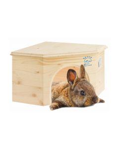Resch Häuschen Kaninchen Eckhaus