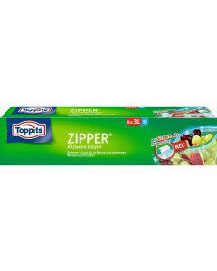 Toppits Frischhaltebeutel Zipper 8 Stück