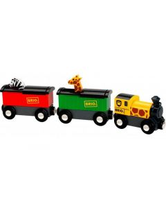 BRIO Eisenbahn Safari Zug