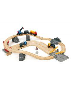 BRIO Eisenbahn Steinverlade Set