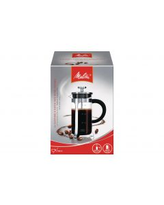 Melitta Kaffeebereiter Inox-Glas 0.35 l, Silber