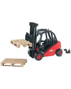 Bruder Spielwaren Baustellenfahrzeug Linder Gabelstapler H30D