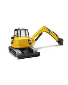 Bruder Spielwaren Baustellenfahrzeug CAT Minibagger