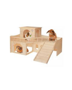 Resch Kaninchenschloss mit Terrasse