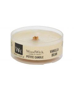 Woodwick Duftkerze Vanille Bean Petite