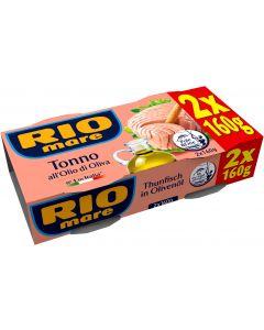 RIO mare Dose Thunfisch in Olivenöl 2 x 160 g