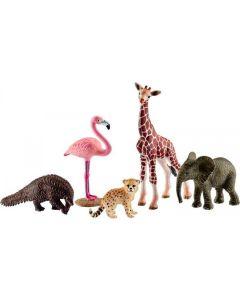 Schleich Spielfigurenset Wild Life Tier-Mix