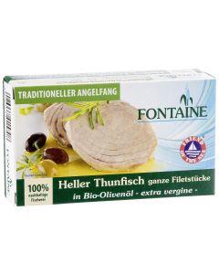 Fontaine Konserven Thunfisch hell in Olivenöl 120 g