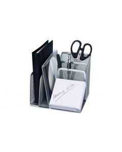 WEDO Stiftehalter Office mit Briefablage, Silber