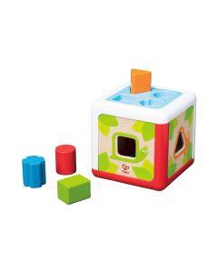 Hape Sortierspiel Sortierbox Gartenhütte