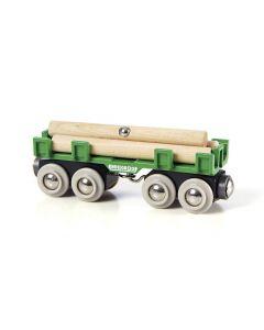 BRIO Eisenbahn Langholzwagen