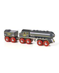 BRIO Eisenbahn Schwarzer Kugelblitz